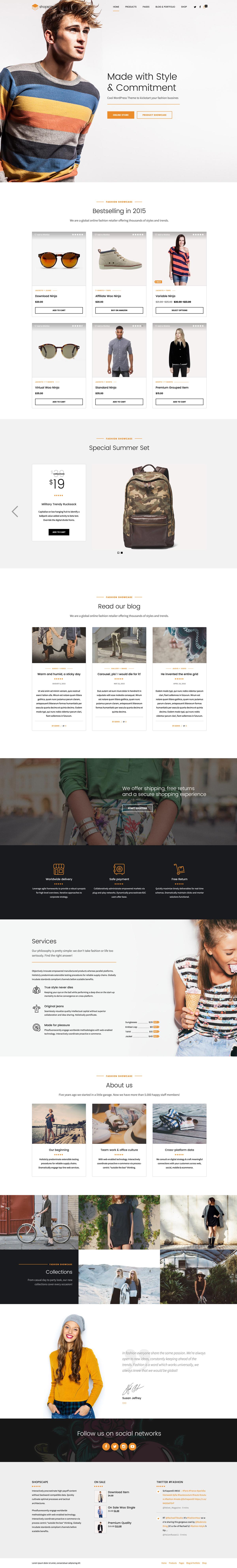 Shopscape - Single Product & WooCommerce Shop Theme