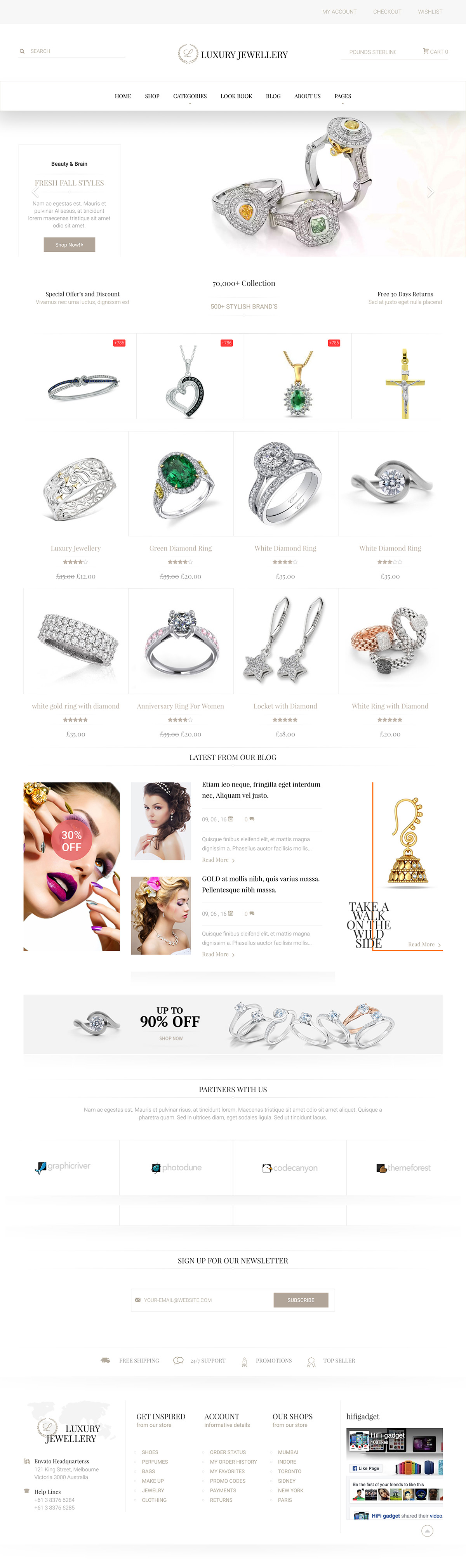 Luxury - eCommerce WordPress Theme