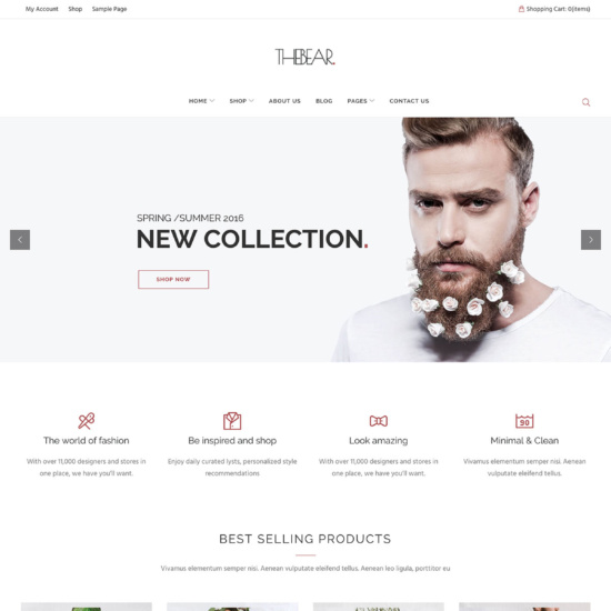 Thebear - Multipurpose Woocommerce Theme