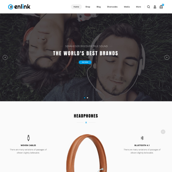 Enlink - Single Product WooCommerce Theme