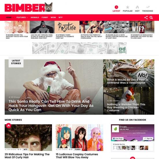 Bimber - Viral Magazine Theme
