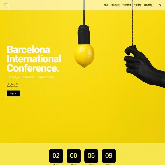 Elements - Creative Event WordPress Theme