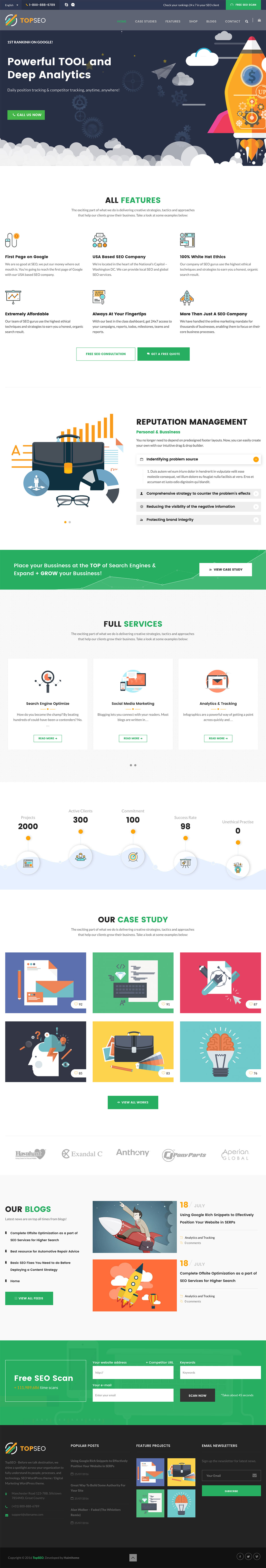 TopSEO - Digital Marketing, SEO WordPress Theme