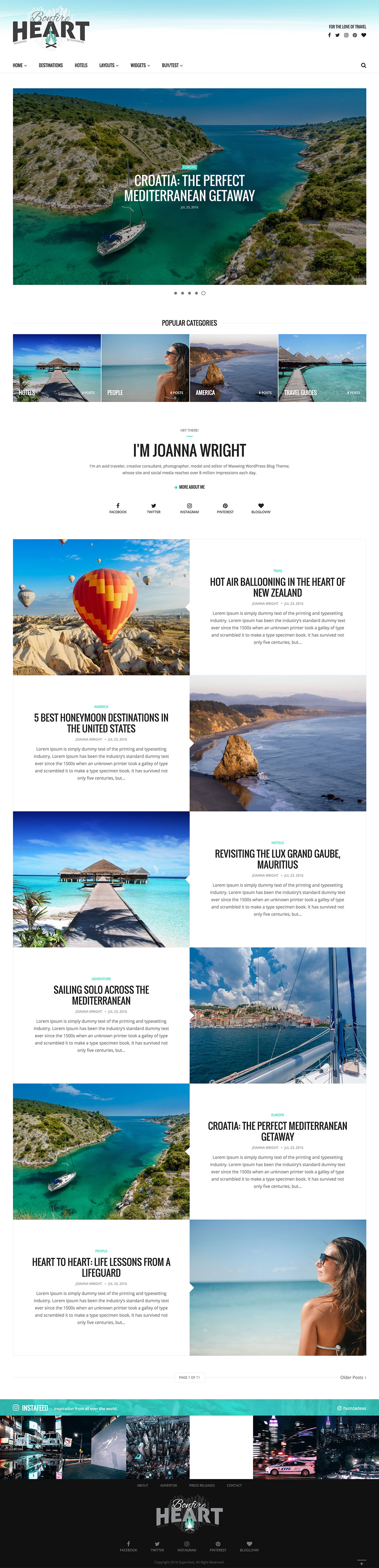Waxwing - Multi-purpose WordPress Blog Theme