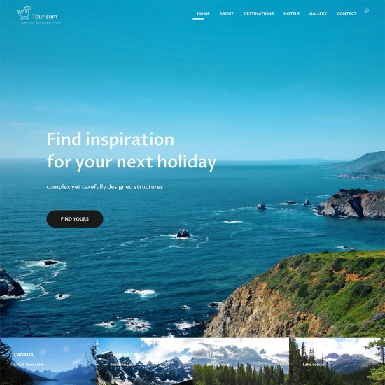 Composer - High-Performance Tourism WordPress Theme