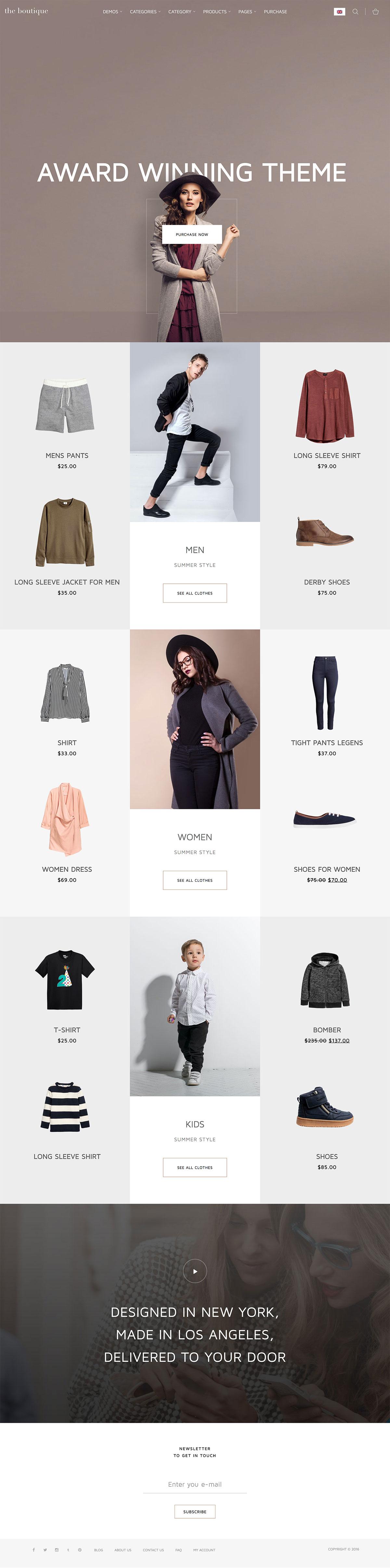 Florist - Minimalist WooCommerce WordPress Theme